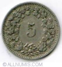 Image #2 of 5 Rappen 1891