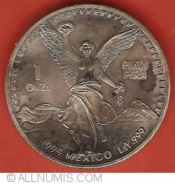 Image #2 of 1 Onza 1994 - Libertad