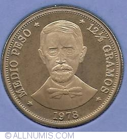 Imaginea #2 a 1/2 Peso 1978