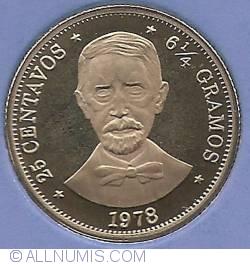 Imaginea #2 a 25 Centavos 1978