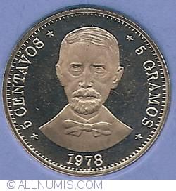Imaginea #2 a 5 Centavos 1978
