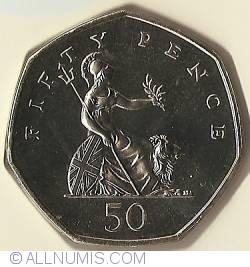 50 Pence 1996