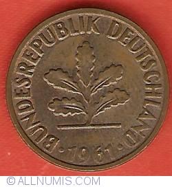 Image #2 of 2 Pfennig 1961 F