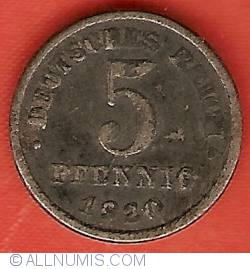 Image #1 of 5 Pfennig 1920 F