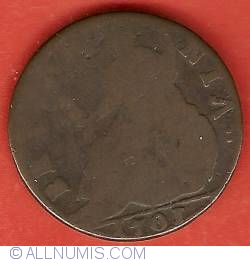 Image #2 of 1/2 Penny 1701