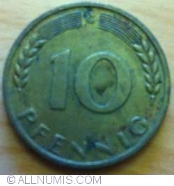 Image #1 of 10 Pfennig 1967 G