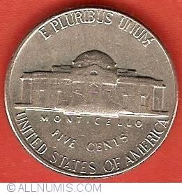 Jefferson Nickel 1969 S, Nickel (Five Cents), Jefferson