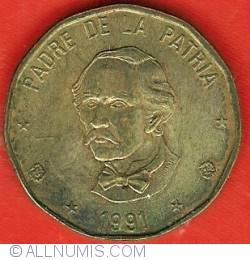 Image #2 of 1 Peso 1991