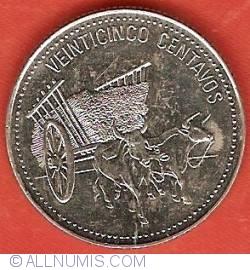 Imaginea #2 a 25 Centavos 1990