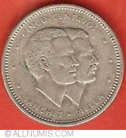 Imaginea #2 a 5 Centavos 1986