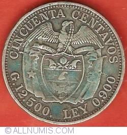 Image #2 of 50 Centavos 1922