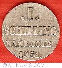 Image #2 of 1 Schilling 1851