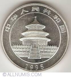Imaginea #2 a 10 Yuan 1995 - Panda
