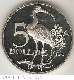 Imaginea #1 a 5 Dollars 1974