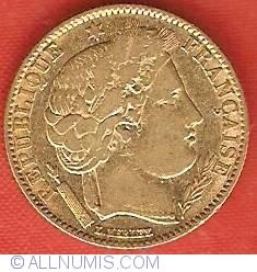 Imaginea #1 a 10 Francs 1850 A