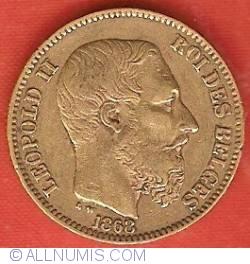 Image #2 of 20 Francs 1868