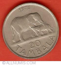 Imaginea #2 a 20 Tambala 1971