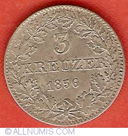 Image #2 of 3 Kreuzer 1856