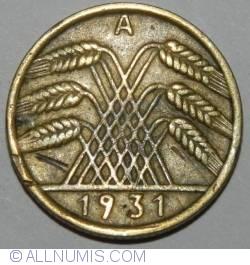 Image #2 of 10 Reichspfennig 1931 A