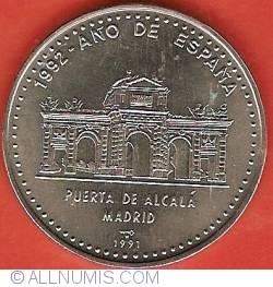 Imaginea #2 a 1 Peso 1991 - 1992 Year of Spain - Alcala Gate Madrid