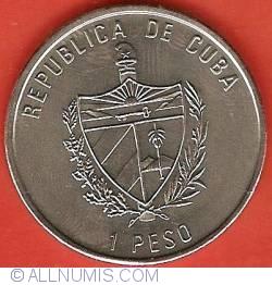 Imaginea #1 a 1 Peso 1991 - 1992 Year of Spain - La Giralda Sevilla