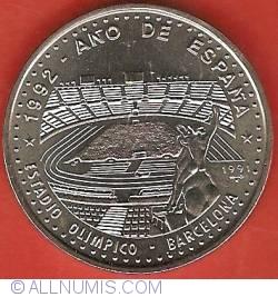 Imaginea #2 a 1 Peso 1991 - 1992 Year of Spain - Olympic Stadium Barcelona
