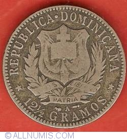 Imaginea #1 a 1/2 Peso 1897