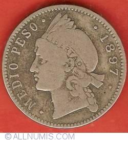 Imaginea #2 a 1/2 Peso 1897