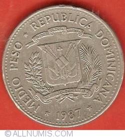 Imaginea #1 a 1/2 Peso 1987