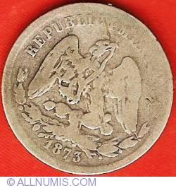 Imaginea #1 a 25 Centavos 1873