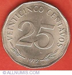 Imaginea #2 a 25 Centavos 1972
