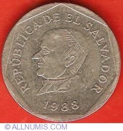 Imaginea #1 a 25 Centavos 1988
