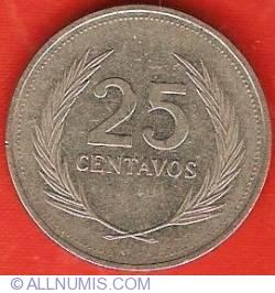 Imaginea #2 a 25 Centavos 1988