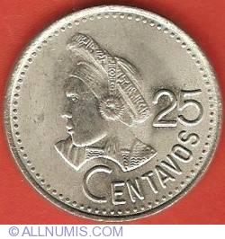 Image #2 of 25 Centavos 1991