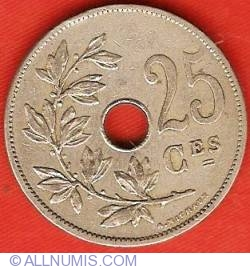 Image #2 of 25 Centimes 1908 (French)