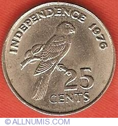 25 Cents 1976 - Declaration of Independence