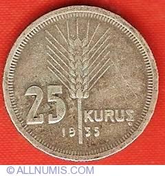 Image #2 of 25 Kurus 1935
