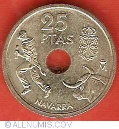 Image #2 of 25 Pesetas 1999