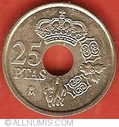 Image #2 of 25 Pesetas 2000