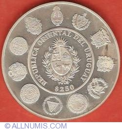 Image #1 of 250 Pesos Uruguayos 2000