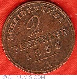 Image #2 of 2 Pfennig 1858 A