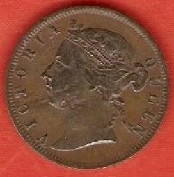 Image #2 of 1/2 Cent 1884
