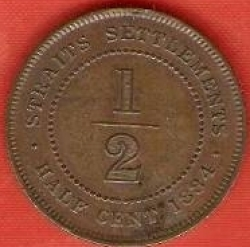 Image #1 of 1/2 Cent 1884