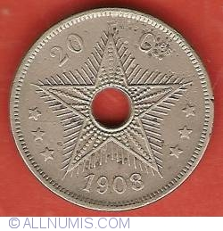 Image #2 of 20 Centimes 1908