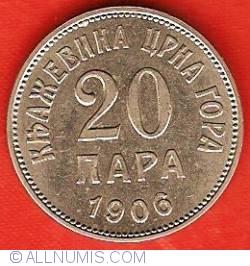 Imaginea #2 a 20 Para 1906