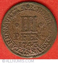 Image #2 of 3 Pfennig 1743