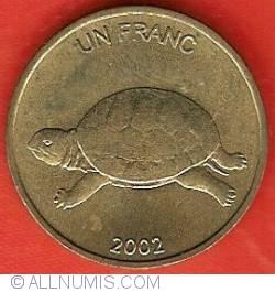 Image #2 of 1 Franc 2002
