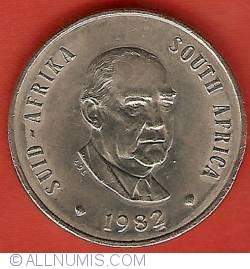 Imaginea #1 a 20 Cents 1982 - President Vorster