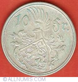 Image #2 of 10 Francs 1929