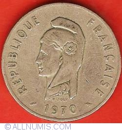 Image #2 of 100 Francs 1970